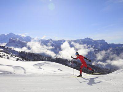 Ski de fond Joux Plane - Tourisme Samoëns