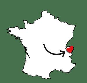 Carte avec le logo Samoëns