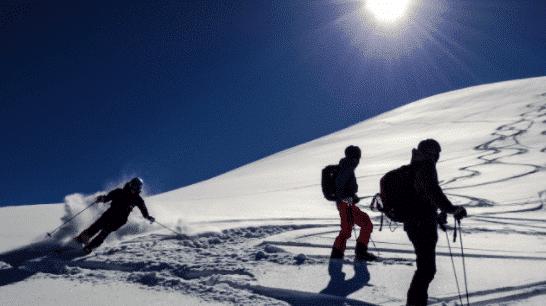 Ski hors piste Samoëns