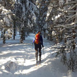 Ski de randonnée à Bostan
